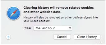 hướng dẫn xóa cache trên trình duyệt Safari