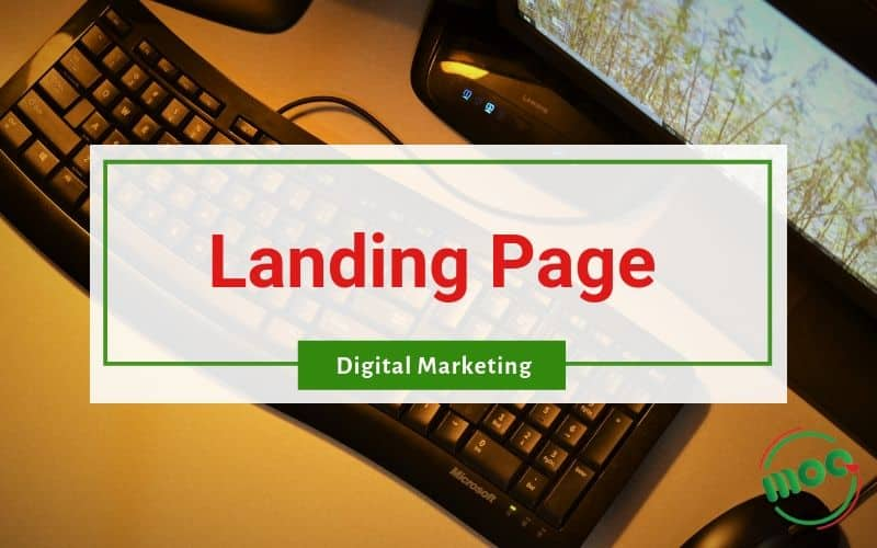 Landing Page với Digital Marketing