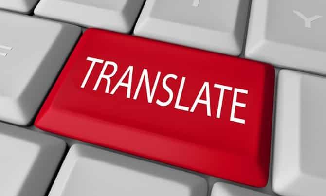 nghề dịch thuật