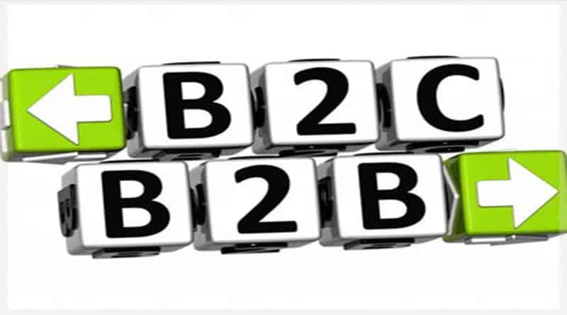 sự khác nhau giữa B2B với B2C