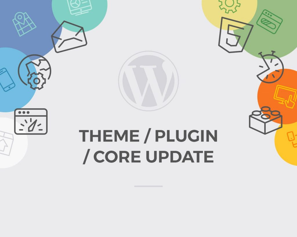 theme, plugin và core update