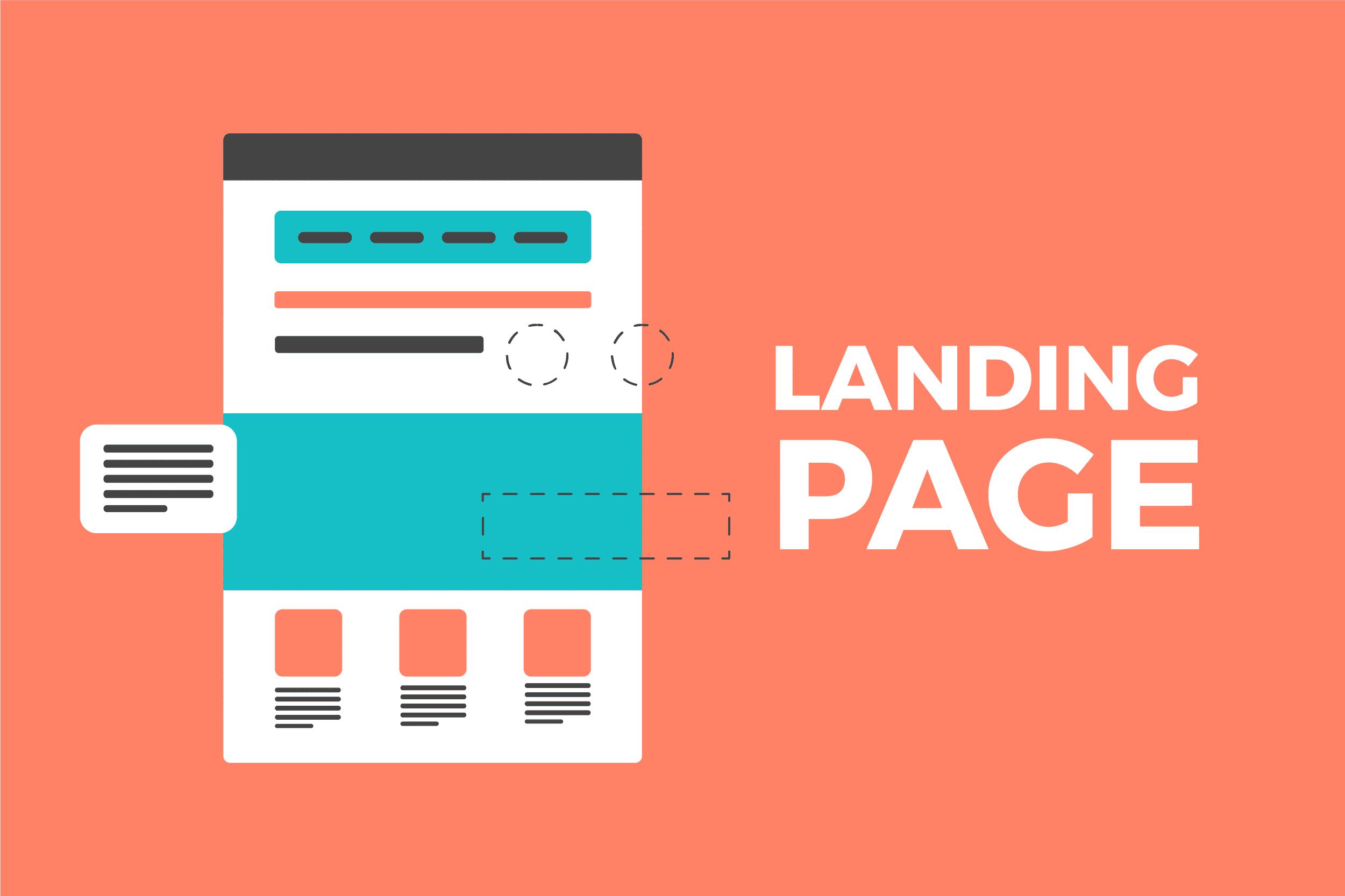 Yếu tố tạo nên Landing Page