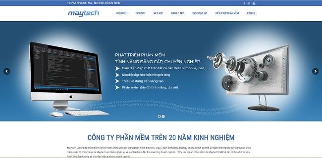công ty phần mềm maytech