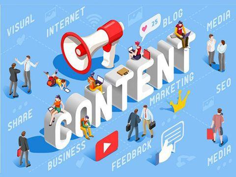 content trên mạng xã hội