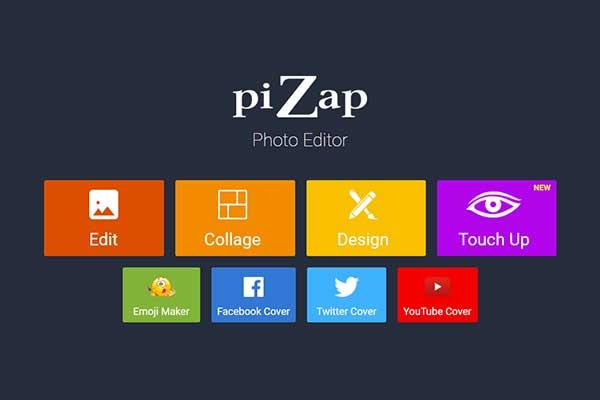 Phần mềm ghép ảnh online piZap