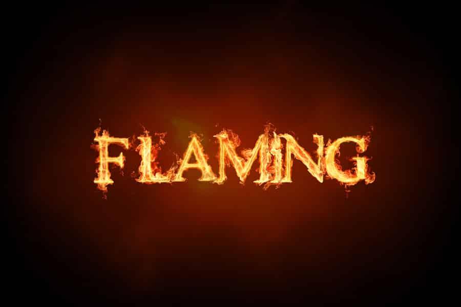 phần mềm thiết kế flaming text