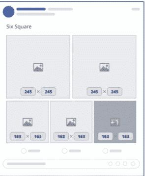 Size chuẩn 6 hình vuông