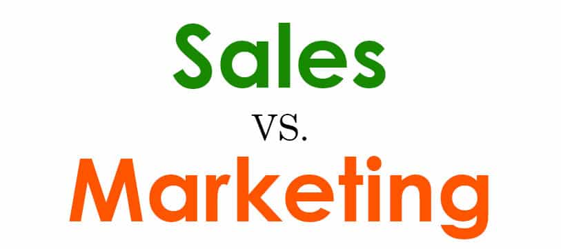 Sự khác biệt giữa Sales và Marketing