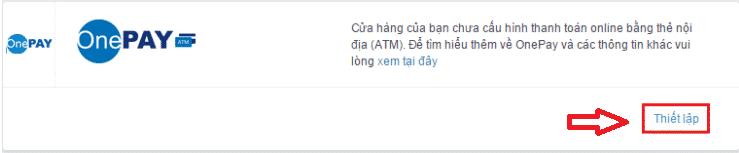 tích hợp thanh toán trực tuyến qua cổng one pay