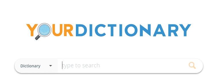 trang từ điển your dictionary