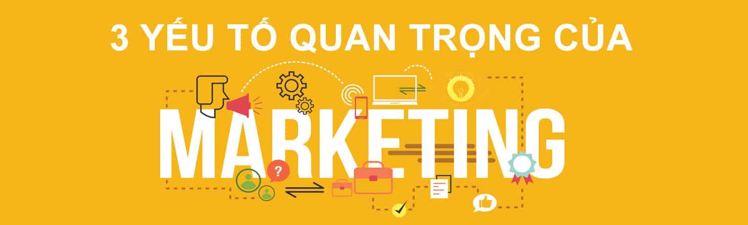 Yếu tố quan trọng của Marketing