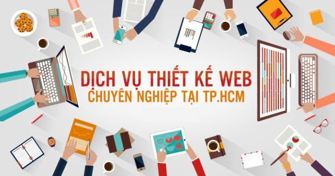 Thiết kế website chuyên nghiệp TPHCM JPWEB