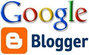 Blogger tích hợp với google
