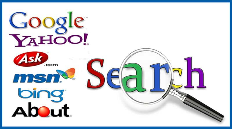 Các search engine được sử dụng nhiều hiện nay