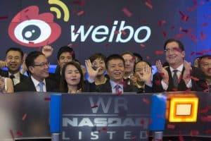 weibo là ưng dụng mạng xã hội số 1 tại Trung Quốc