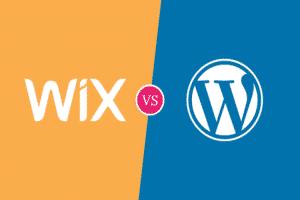 sự khác nhau giữa wix và wordpress
