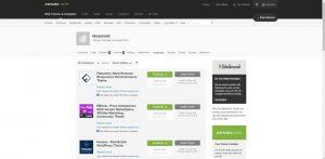 Themeforest là nơi bán những mẫu website