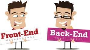 front-end và back-end là gì?